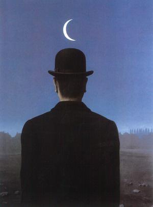 René Magritte: A horizont misztériumai - részletIllusztráció a 2010-es Budapesti Wagner-napok Trisztán és Izolda premierjéhez.