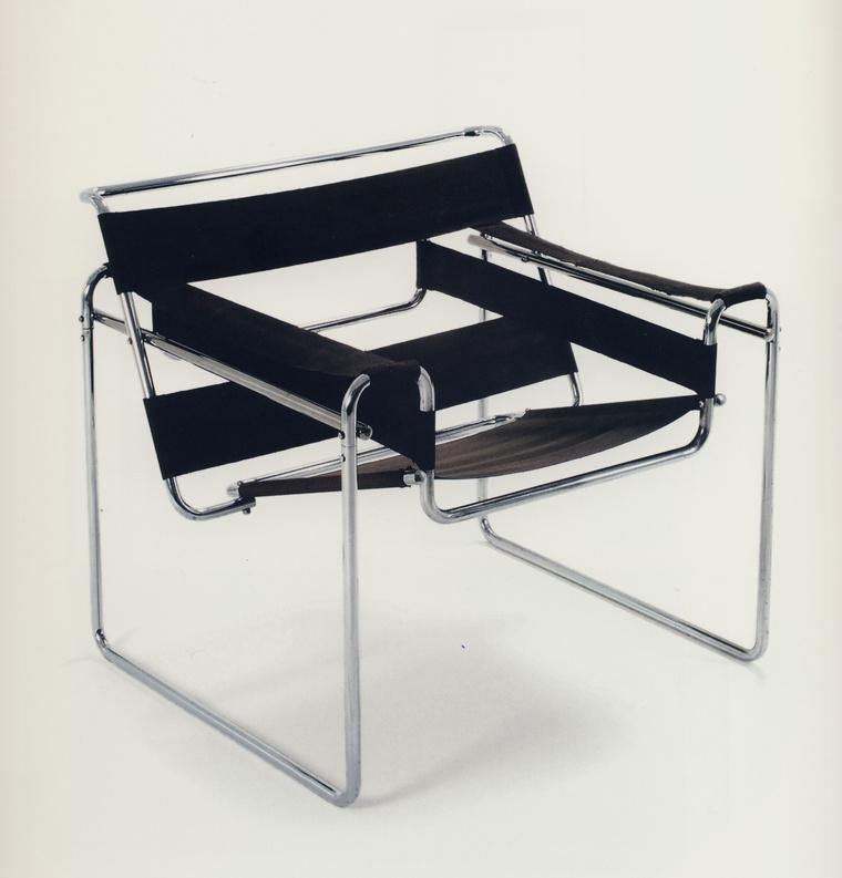 Bauhaus 2 Breues Marcell híres csőszéke