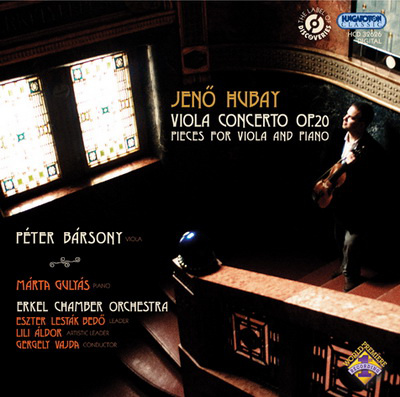 Bársony Péter Hubay-lemeze, Hungaroton