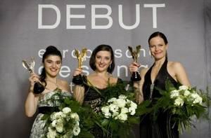 A DEBUT 2008-as győztesei