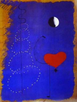 Joan Miró: Táncos (1925)