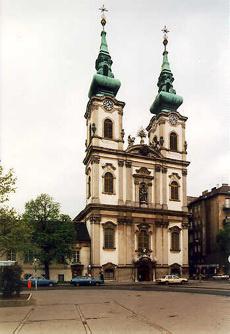 A vízivárosi Szent Anna-templom
