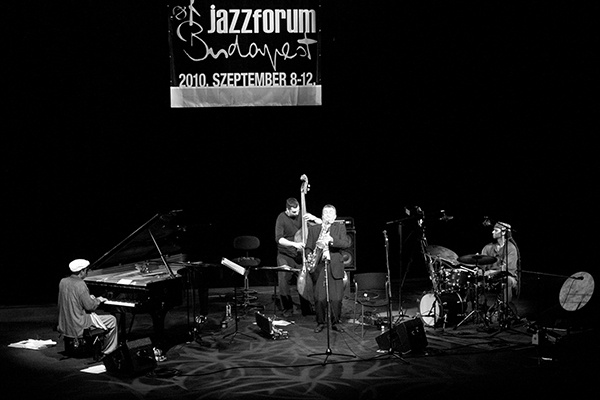 Dreschék magyar-amerikai zenekara a Jazzforum Budapesten fotó Pawel Karnowski