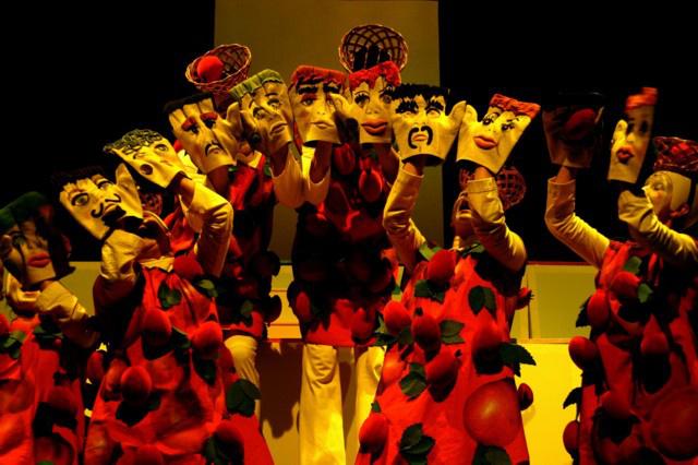 Csipkerózsa - jelenet az előadásból