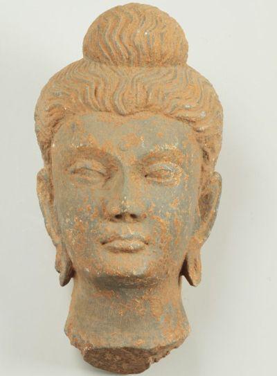 Kő Boddhiszatva fej