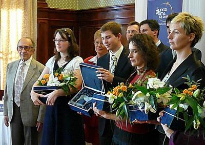Junior Prima Díjazottak 2010