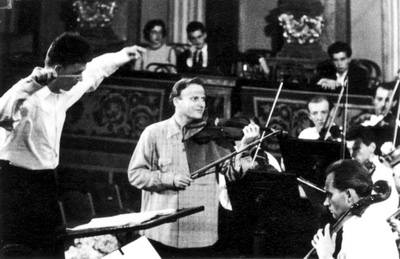 A Philharmonia Hungarica Yehudi Menuhinnal