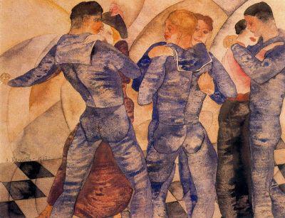 Charles Demuth: Táncoló tengerészek