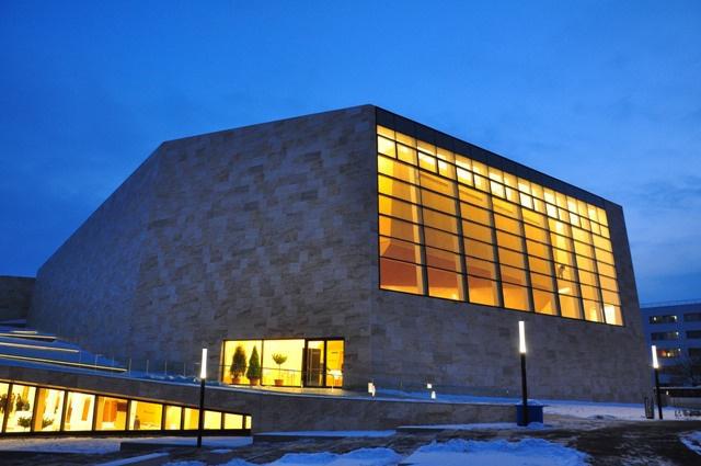 A 2009. augusztus 29-i alapkőletételt követően mindössze 16 hónap alatt épült meg a Kodály Központ (Fotó: Végh Dániel)