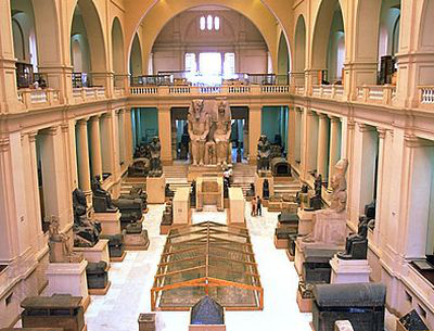 Egyiptomi Múzeum - belső