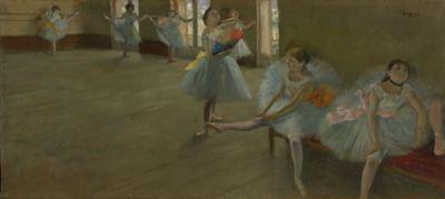 Edgar Degas: Tánclecke