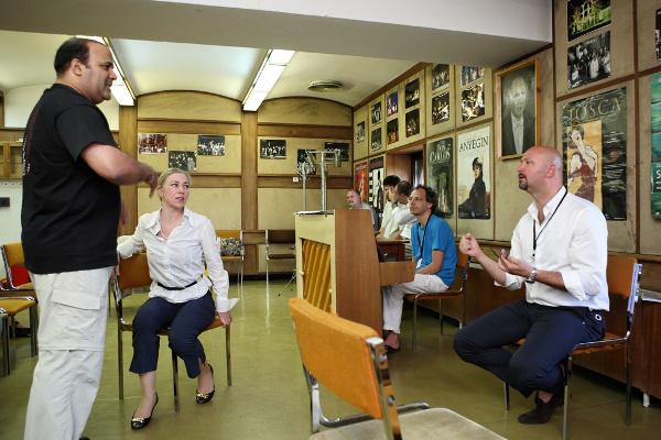 Juronics Tamás workshopja - Armel Operaverseny és Fesztivál 2011