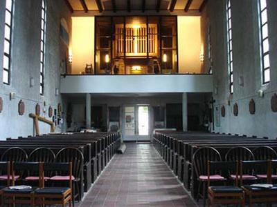 A balatonboglári római katolikus templom orgonája