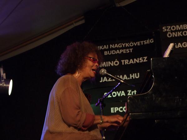 Tania Maria a Lamantin Jazzfesztiválon Fotó Józsa Botond