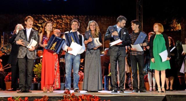 A díjazottak - Az I. Lévay Szilveszter Nemzetközi Musical Énekverseny döntője