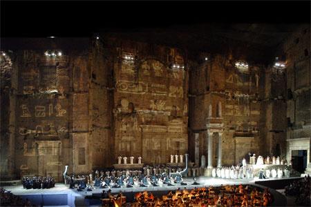 Chorégies d'Orange, Aida 2006