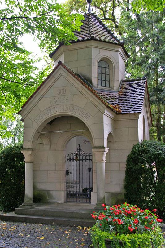 Liszt síremléke Bayreuthban