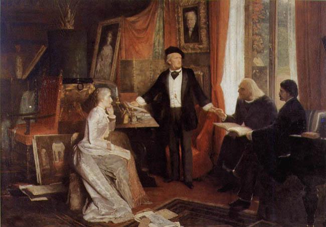 Liszt, Wagner és Cosima