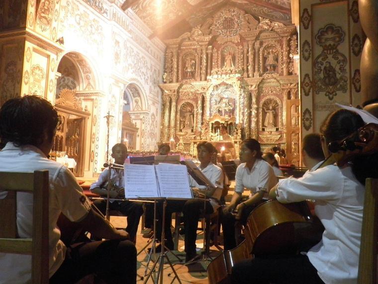 Zenemisszión Bolíviában