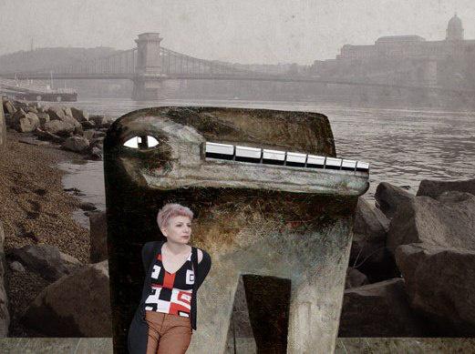 Milorad Krstic: Radmila und John Cage in Budapest