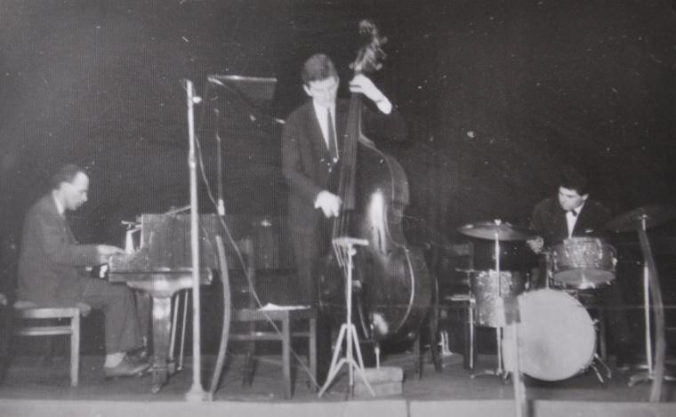 A Zágon-Bublik-Ruttka trió (Pécs, 1956)