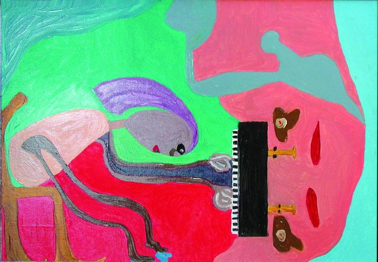 Varga Dániel festményei