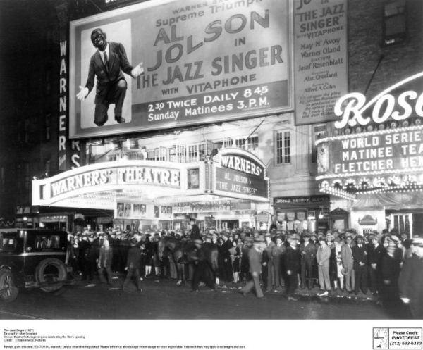 Warner Brothers: Jazz Singer (1927) - fotó: Photofest