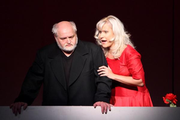 Szakács Ildikó Gilda szerepében a 2011-es Armel Operaverseny Rigoletto c. versenyprodukciójában