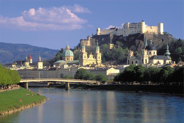 Salzburg látképe