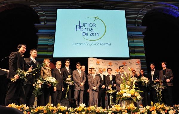 Junior Prima Díj 2011 Magyar Zeneművészet díjátadó