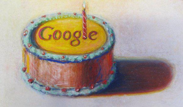 Google Doodle: Wayne Thiebaud képe (12. születésnap)