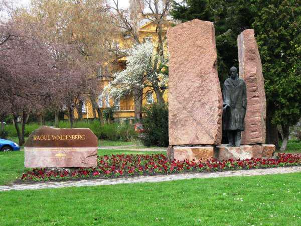 Raoul Wallenberg emlékmű, Budapest