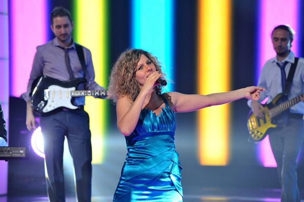 Fábián Juli az Eurovíziós Dalfesztivál magyar elődöntőjében