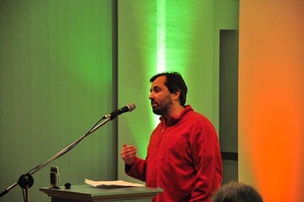 Schilling Árpád a Szünet nélkül! - a magyar kultúra érdekében című konferencián