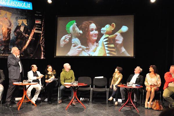 Színházak Éjszakája - sajtótájékoztató
