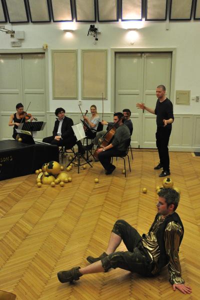 Lux Aeterna Budapest Bach Consort, Philipp György, Varga Donát - Bastien és Bastienne - Mozart-maraton 2012 (rend. Philipp György) - fotó: Végh Dániel