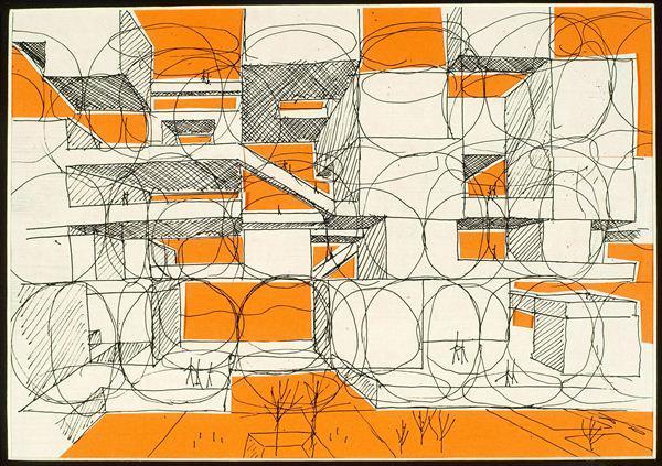 Ludwig Múzeum - Yona Friedman: Ville spatiale, 1959-1960