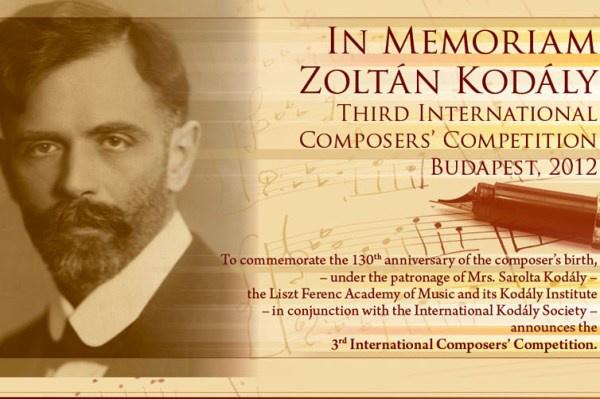 Kodály Zoltán Zeneszerzőverseny
