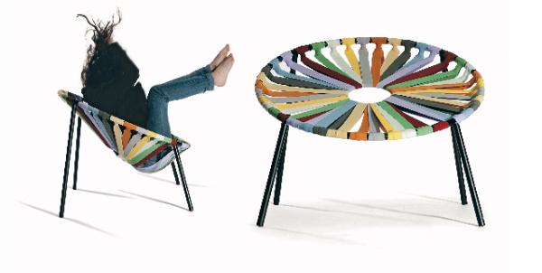 Design Hét 2011 - Velichko Velikov: Lastika szék, 2011 (Bulgária)