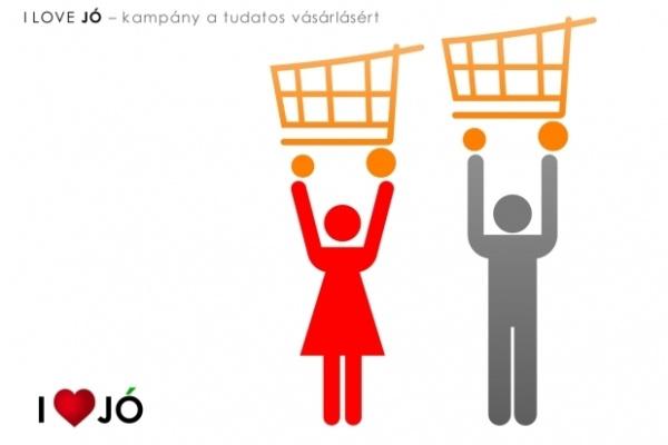 Mórocz Tamás: Vásárlás feletti uralom - I love JÓ 1. Képeslaptervező pályázat, zsűrizett alkotás