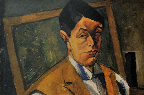 Tihanyi Lajos: Önarckép (egy bohém festő Budapesten, Berlinben és Párizsban - KOGART Ház) (Nyolcak)