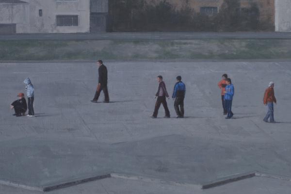 Európai utasok (Műcsarnok) - Serban Savu: Parkoló vasárnap, 2008