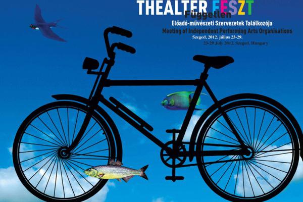 A 2012-es Thealter Fesztivál plakátja
