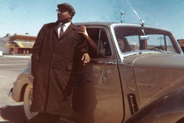Thelonious Monk és Bentley-e - Pannonica fotója