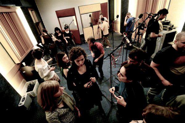 Soharózások stúdiófelvételen