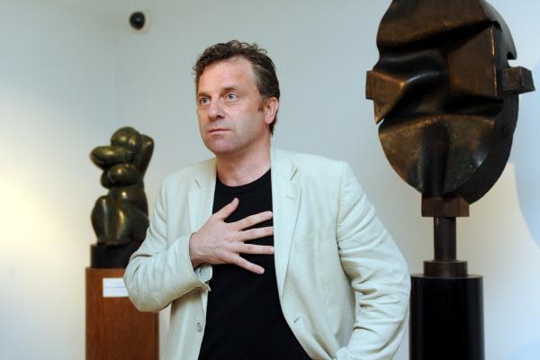 Oberfrank Pál tárlatvezetése - Pécsi Országos Színházi Találkozó - 5-6. nap