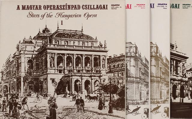 34. tétel: Bakelitlemez sorozat: A Magyar Operaszínpad Csillagai - Jótékonysági árverés a Magyar Állami Operaházban