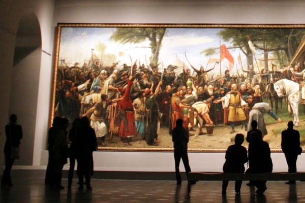 Magyar Nemzeti Galéria (borszerda) - Honfoglalás