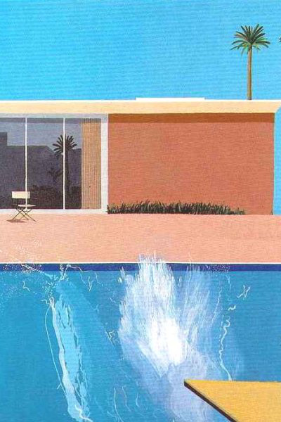 David Hocknes: A Bigger Splash