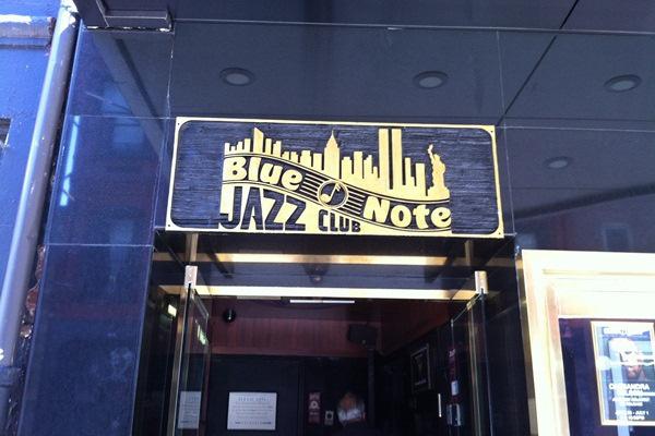 Blue Note - Jazzklubok New Yorkban